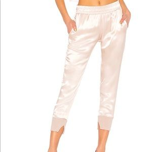 Cuffed Jogger Pant in Pink Beige